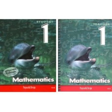 ACSI Maths Grade 1 Student Edition 7210 + Teacher Guide ( 1 volume) 7211 - SET of 2 books