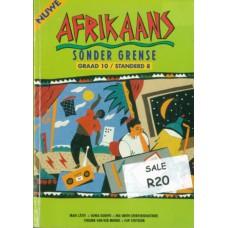Nuwe Afrikaans Sonder Grense Graad 10/ Standerd 8 Leerdersboek - USED