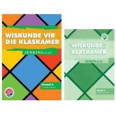 Wiskunde vir die Klaskamer Graad 2 Leedersboek + Onderwsyersgids - Hersiene NKV (Heinemann) - SET of 2 DISPLAY SAMPLES