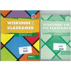 Wiskunde vir die Klaskamer Graad 2 Leerdersboek + Onderwysersgids - Hersiene NKV (Heinemann) - SET OF 2 BOOKS