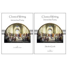 Classical Writing - Intermediate Poetry - Text + Student Guide - SET OF 2 BOOKS