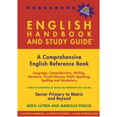 English Handbook and Study Guide (Paperback), by Beryl Lutrin & Marcelle Pincus - DISPLAY (2006 edition)