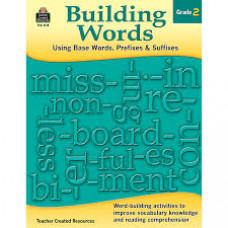 Building Words Grade 2: Using Base Words, Prefixes and Suffixes (Paperback Workbook - torn front cover)