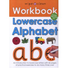 Lowercase Alphabet (Wipe Clean Workbook)