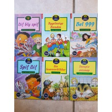 Oxford Storieboom Fase 12 Leesboeke - SET of 6 BOOKS (NEW)